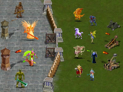 King-war is a free multiplayer online strategy war game great Screen Shot